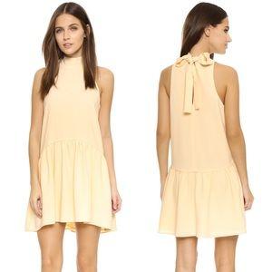 Elizabeth & James Natural Trisha Crepe Dress